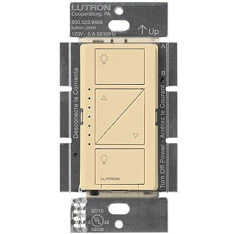 Lutron Caseta - Regulador de intensidad inalámbrico para pared