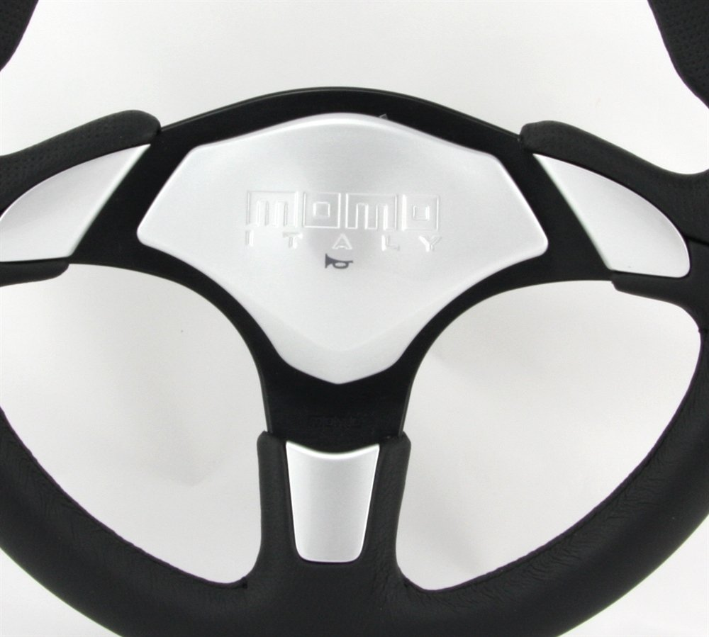 Momo Lenkrad X-Avion 35cm schwarz//grau steering wheel volante