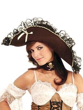 el mejor diseño de calidad entrega rápida Sombrero pirata para mujer: Amazon.es: Juguetes y juegos