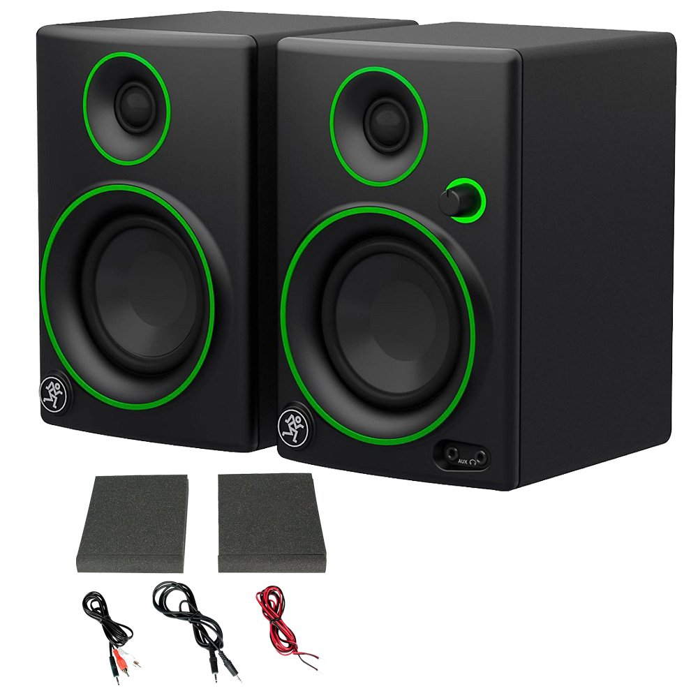 Mackie CR Series CR3 - 3'' Creative Reference Multimedia Monitors (Pair) (Certified Refurbished) by Mackie