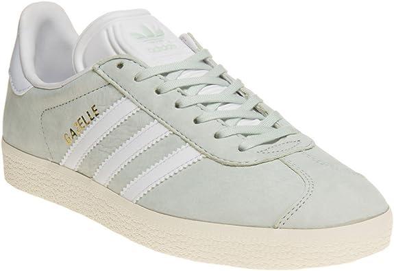Adidas Gazelle Mujer Zapatillas Verde: Amazon.es: Zapatos y ...