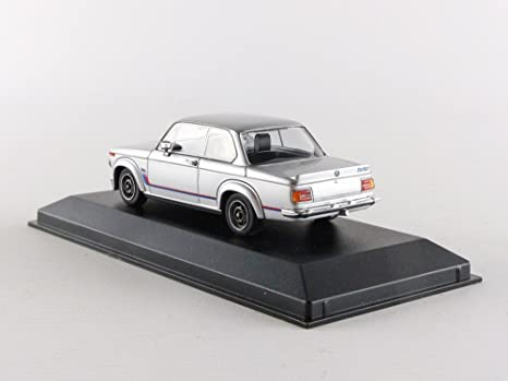 Minichamps 940022200 Maxichamps 1:43 Silver BMW 2002 Turbo 1973