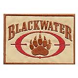 LEGEEON Desert AOR1 Blackwater Insignia Academi Embroidered Tactical Combat Milspec Hook&Loop Patch