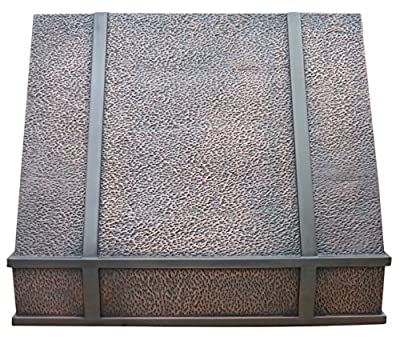 Copper Best H11 362130H Copper Range Hood, 36 inch Under Cabinet with Liner