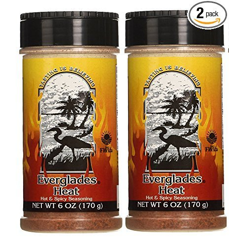 Everglades Heat Hot & Spicy Seasoning 6 oz. (170 g) (2 Pack)