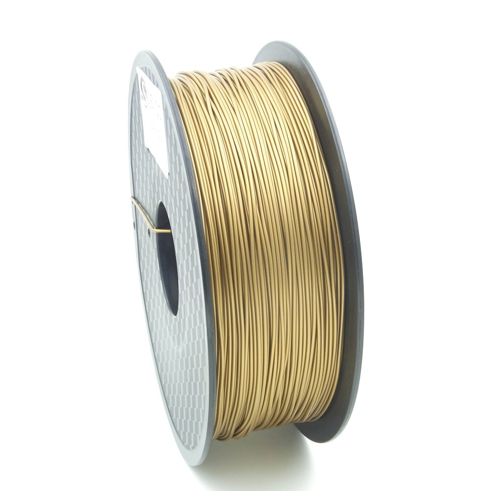 SIENOC 1kg 1.75mm ABS 3D printer filament Printer - With coil (Gold) 3D-ABS
