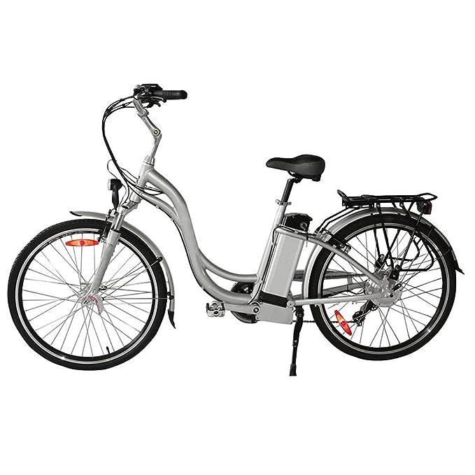 CYCBT E - Batería para Bicicleta (36 V-10,4 AH, Ion de Litio, Compatible con Prophete, Kreidler, Vitality y Spectro a, con Cargador, Bicicleta eléctrica, ...