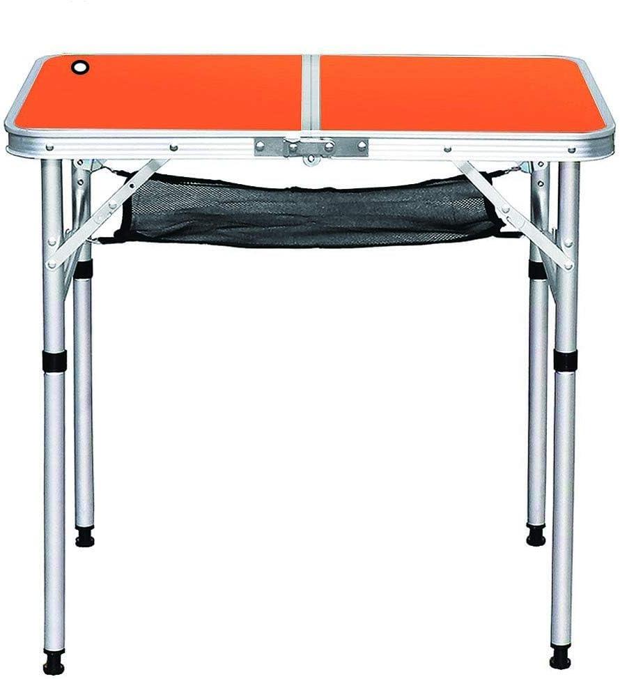 HJ-CGZ Al Aire Libre de Aluminio Plegable Mesa de Camping ...