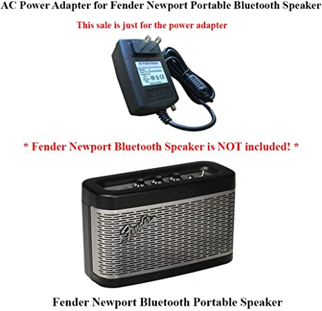 AC Power Adapter Charger for Fender Newport Portable Bluetooth Speaker