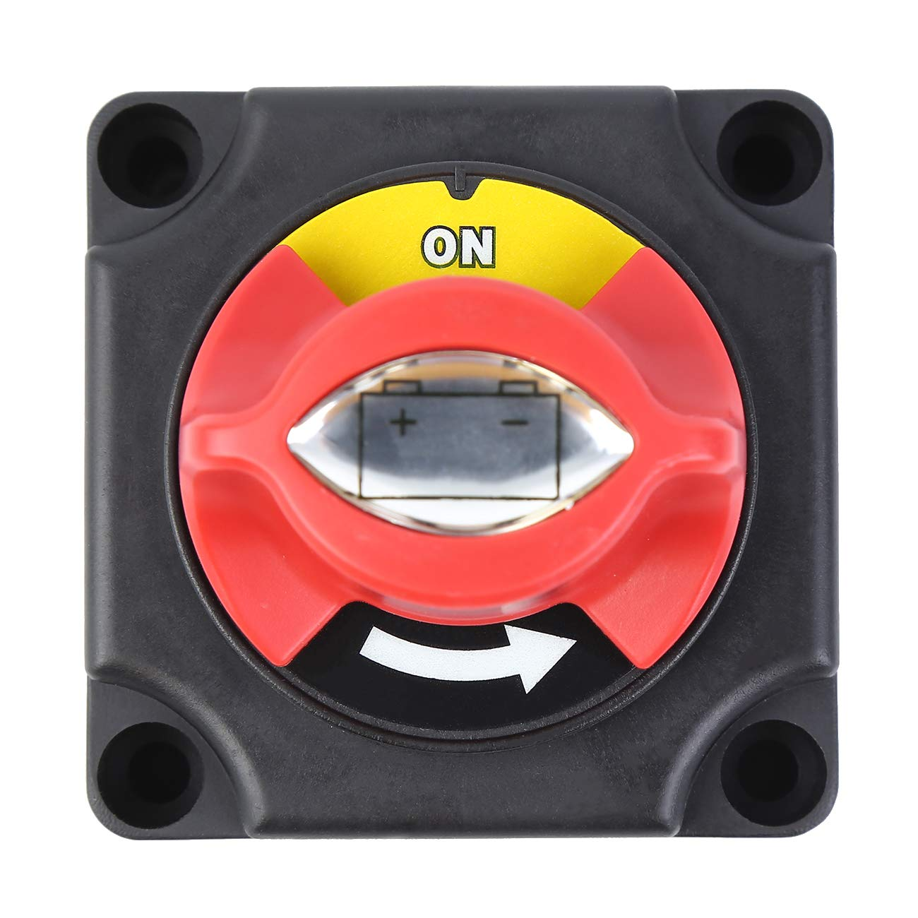 RV and Boat Ambienceo 300A 24V Battery Isolator Disconnect Switch Vehicle Battery Power Cut Master Switch Disconnect Isolator for Car On//Off