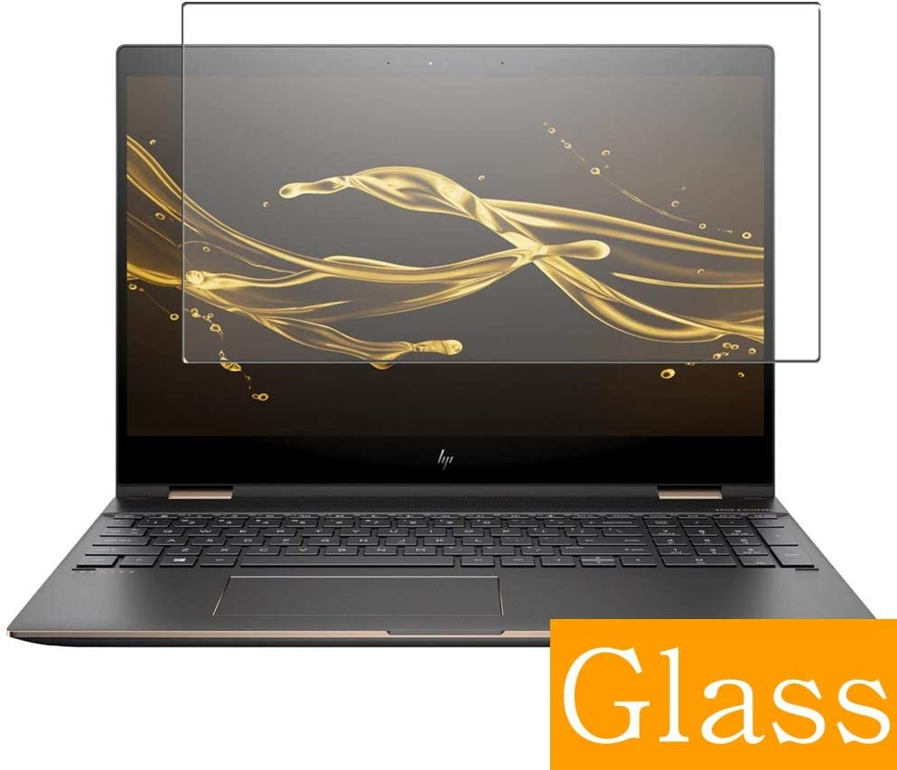 "Synvy Tempered Glass Screen Protector for HP Spectre x360 15-ch000 / ch012tx / ch011tx / ch011dx / ch004na / ch011nr / ch012nr / ch008ca / ch000na / ch000nd 15.6"" Visible Area"