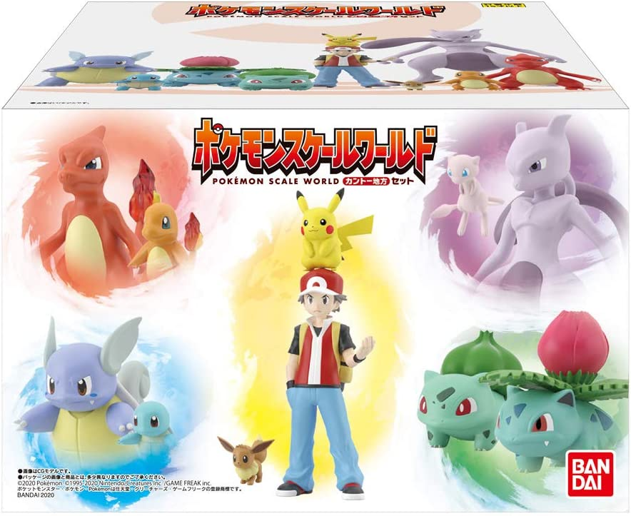 Pokemon Scale World Figure Set Galar Region Complete Set Bandai Japan