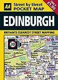 AA Pocket Map Edinburgh (AA Street by Street)