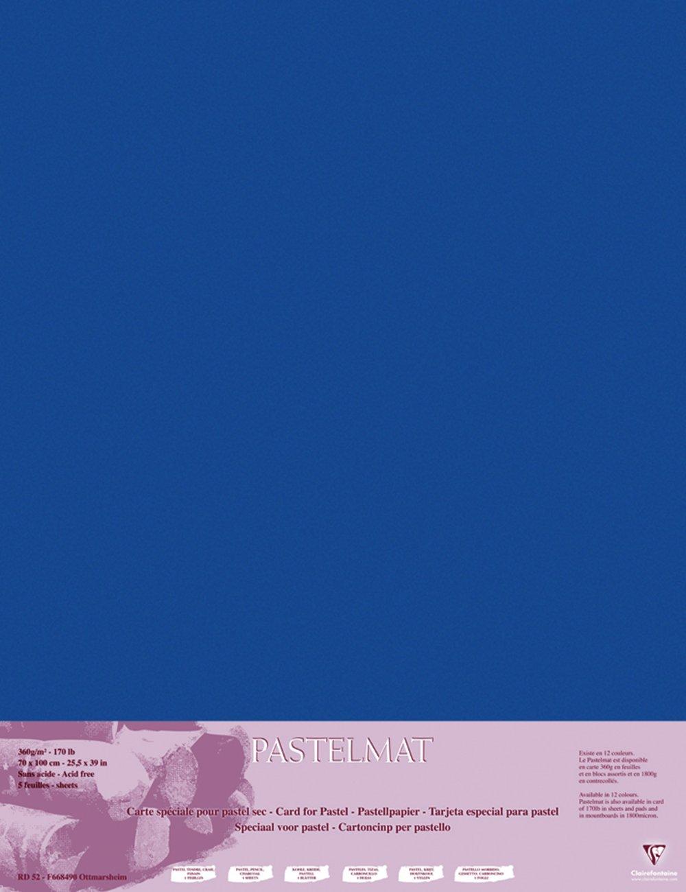 Clairefontaine 96011C Packung (mit 5 Zeichenbögen Pastelmat, 50 x 70 cm, 360 g, ideal für Trockentechniken und Pastell) braun B017NEF80C   Angemessene Lieferung und pünktliche Lieferung