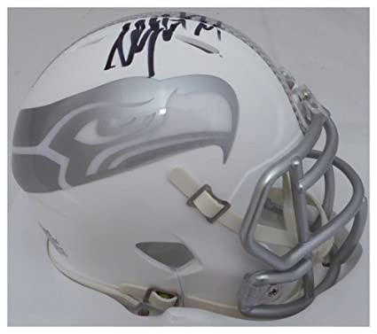 new style 9ace5 73830 Amazon.com: Marshawn Lynch Autographed Signed Seattle ...