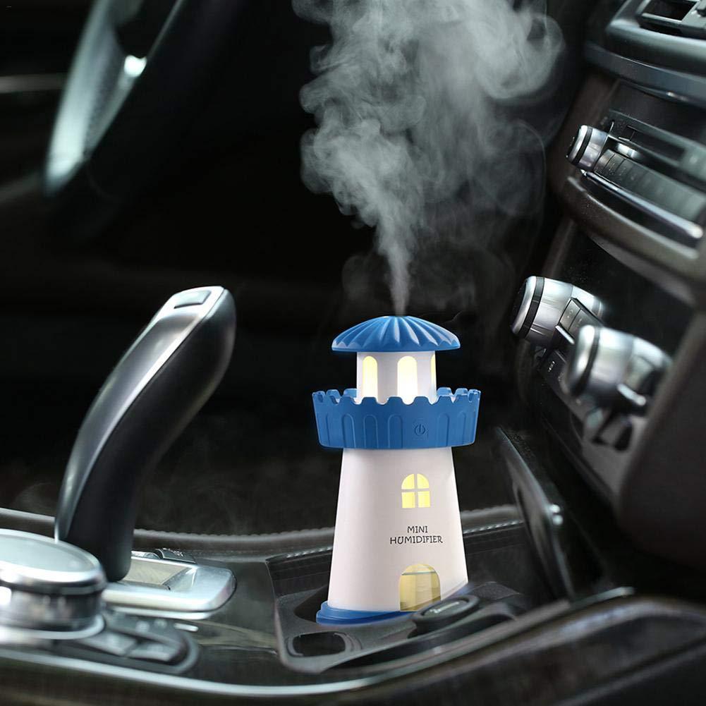 Babyzimmer Custody Auto Schlafzimmer Yoga B/üro crazerop Reines Wasser Luftbefeuchter Luftbefeuchter Leuchtturm LED Luftbefeuchter Luftverteiler Luftreiniger Zerst/äuber Spa