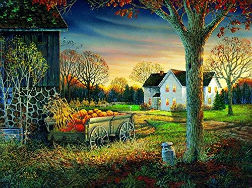 Pumpkin Harvest 1000 pc Jigsaw Puzzle by SunsOut]()