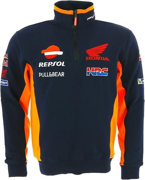 Honda Repsol Moto GP Team Camisa de entrenamiento Oficial 2017: Amazon.es: Deportes y aire libre