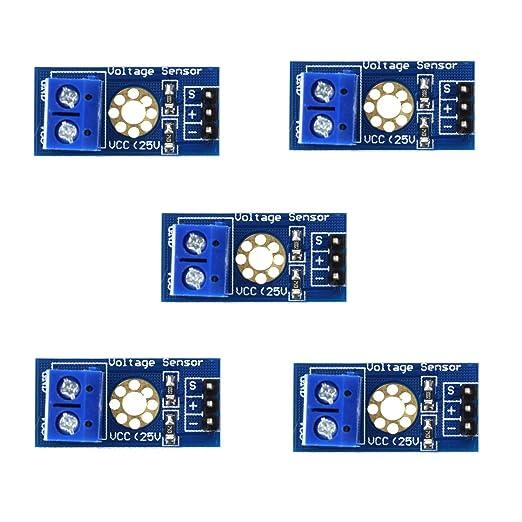 2PCS DC Voltage Sensor Module Voltage Detector Divider for Arduino