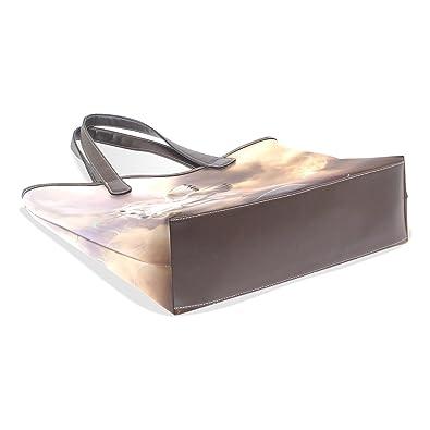 imobaby Women Hobo Bag Large Tote White Unicorn Shoulder Bags Handbag