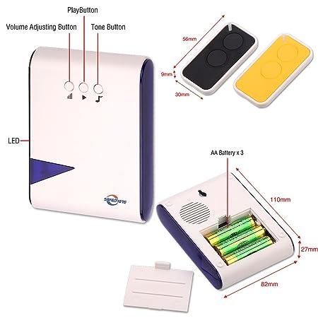 zoter® Wireless Tür Access Control Code Passwort Keypad Klingeln ...