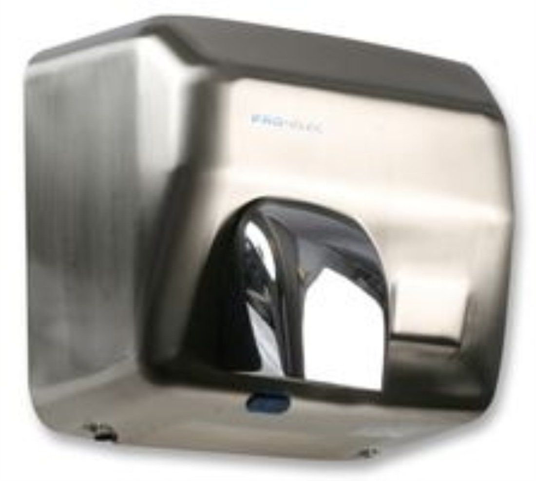 PRO-ELEC GSQ250B Brushed Steel 2500 W Automatic Electric Hand Dryer