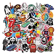Sticker Pack [150-Pcs] Graffiti Sticker Decals Vinyls for Laptop,Kids,Cars,Motorcycle,Bicycle,Skateboard Luggage,Bumper Stickers Hippie Decals bomb Waterproof