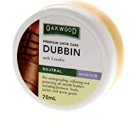Oakwood Dubbin Neutral 70ml Bainbridge for Waterproofing Softening Preserving