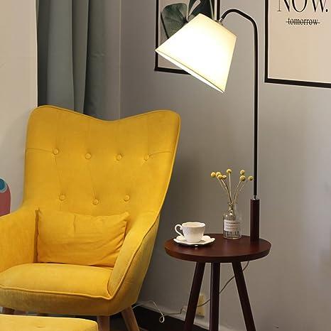 Lámpara de Piso- Lámpara de pie de la cabecera de la Sala de ...