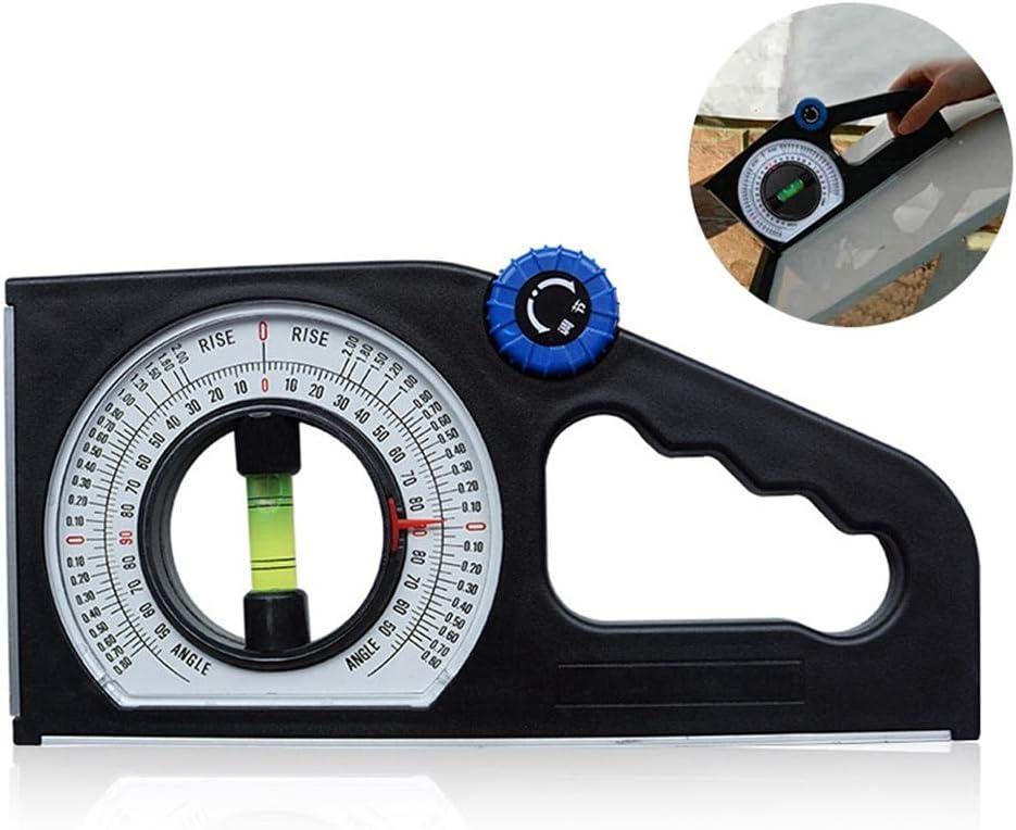 Multifunktions Level-Winkelmesser MOGOI Hochpr/äzise Neigungswinkel-Messger/ät magnetische Neigungsmesser horizontaler vertikaler Winkel Declinometer Schr/ägmesser Lineal Werkzeuge Winkelmesser