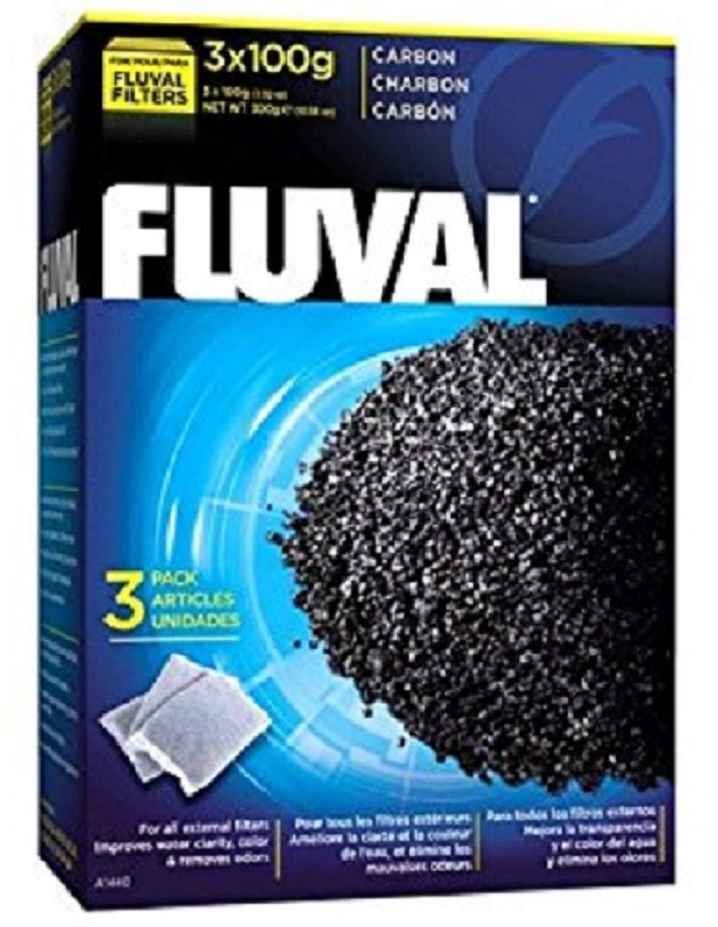 Fluval Média de Filtration 3x100 g Charbon product image