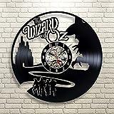 The Wizard Of OZ Vinyl Record Clock Wall Art Home Decor