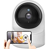 Baby Monitor, Wireless 1080P FHD Smart Home Baby Monitor with Camera and Audio Indoor Security Camera with Night Vision…