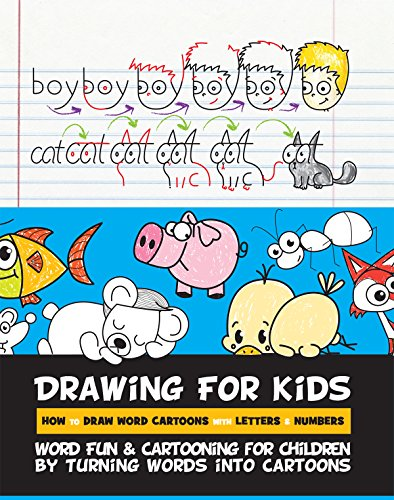 Drawing for kids how to draw word cartoons with letters numbers enjoy this book and over 1 million titles with kindle unlimited altavistaventures Gallery