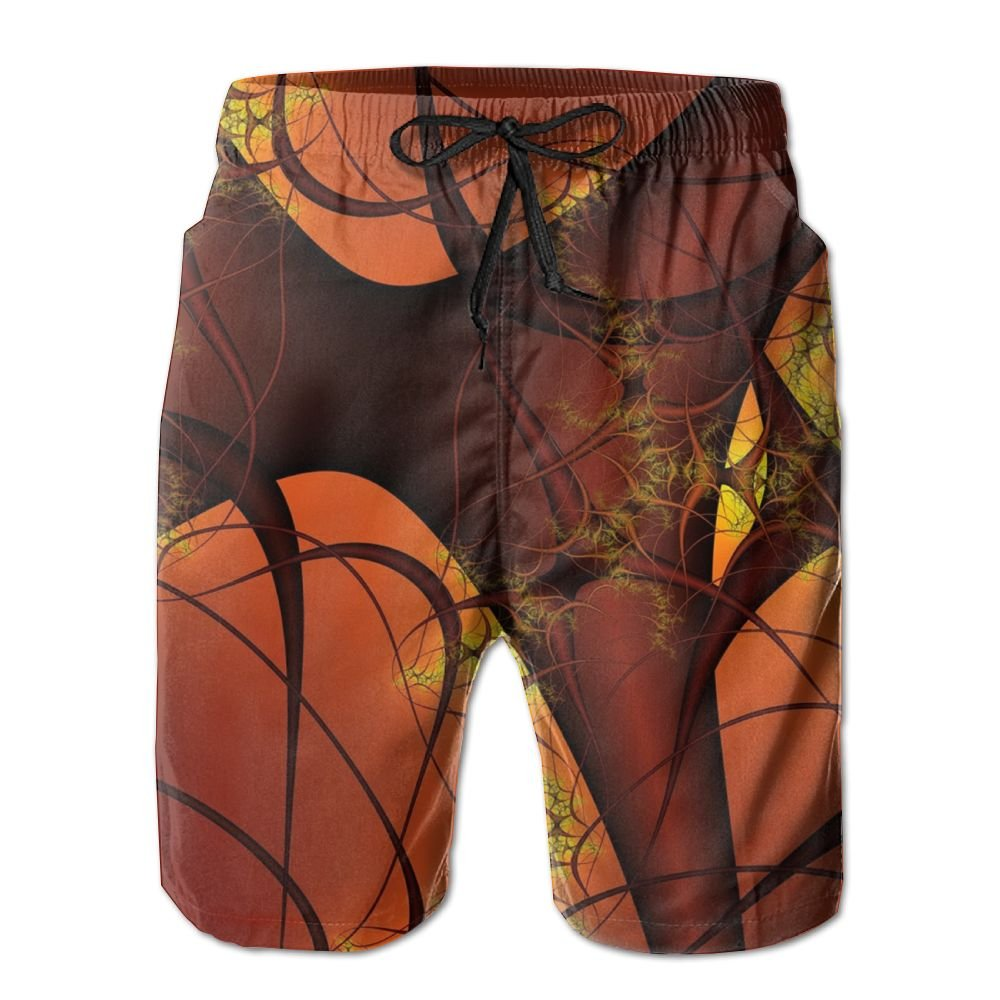 NSYUR Mens Blood Vessels Summer Holiday Quick-Drying Swim Trunks Beach Shorts Board Shorts