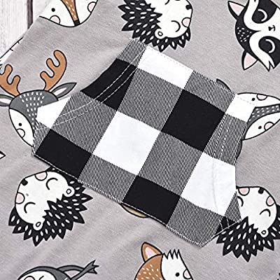 Conjunto de ropa para bebé y niña de manga larga + camiseta de ...
