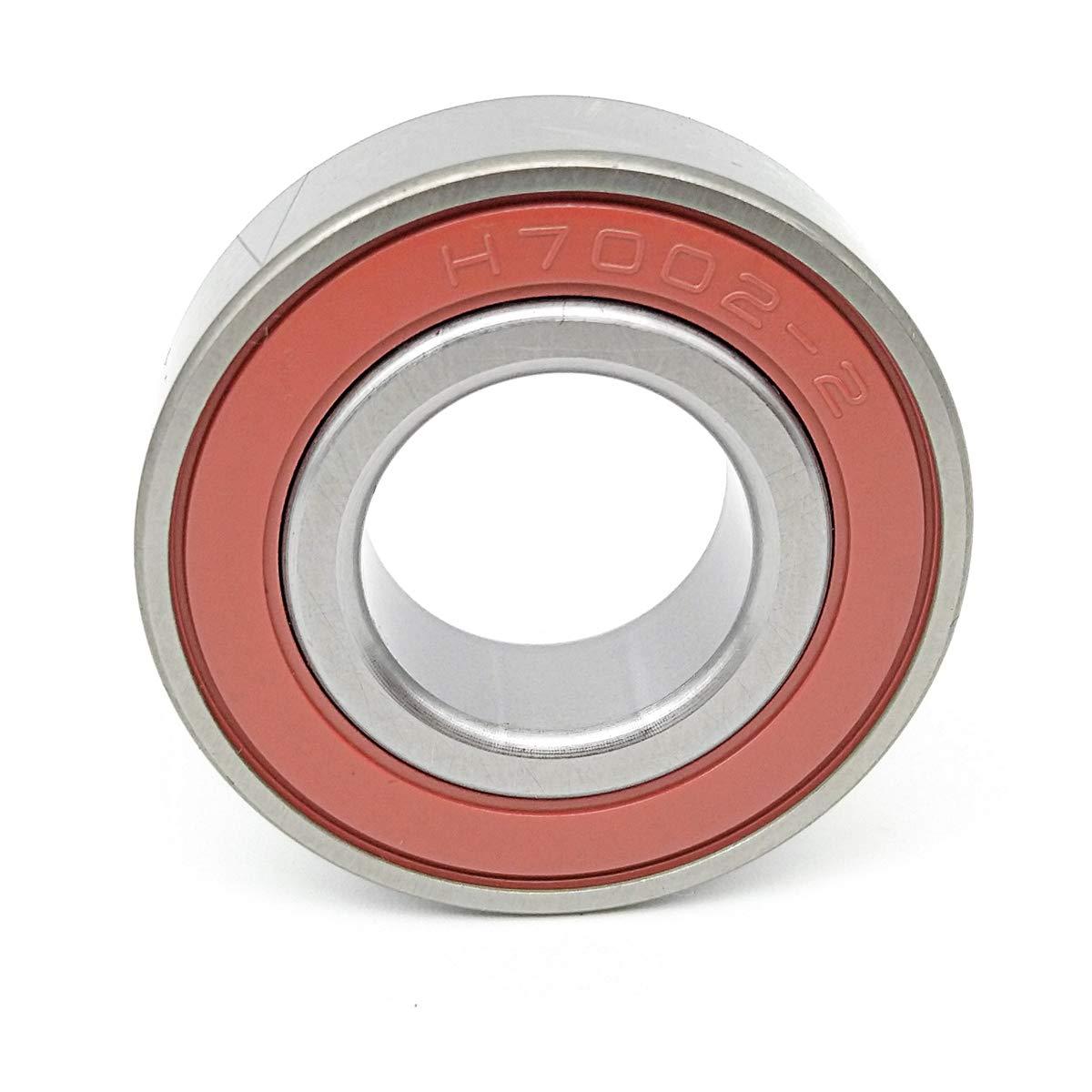 MOCHU Bearings 7002 H7002C-2RZ-P4 15x32x9 Sealed Angular Contact Bearings Speed Spindle Bearings CNC ABEC-7 Metric 15mm ID 9mm Width 32mm OD Machine Tool Spindle Engraving Machine