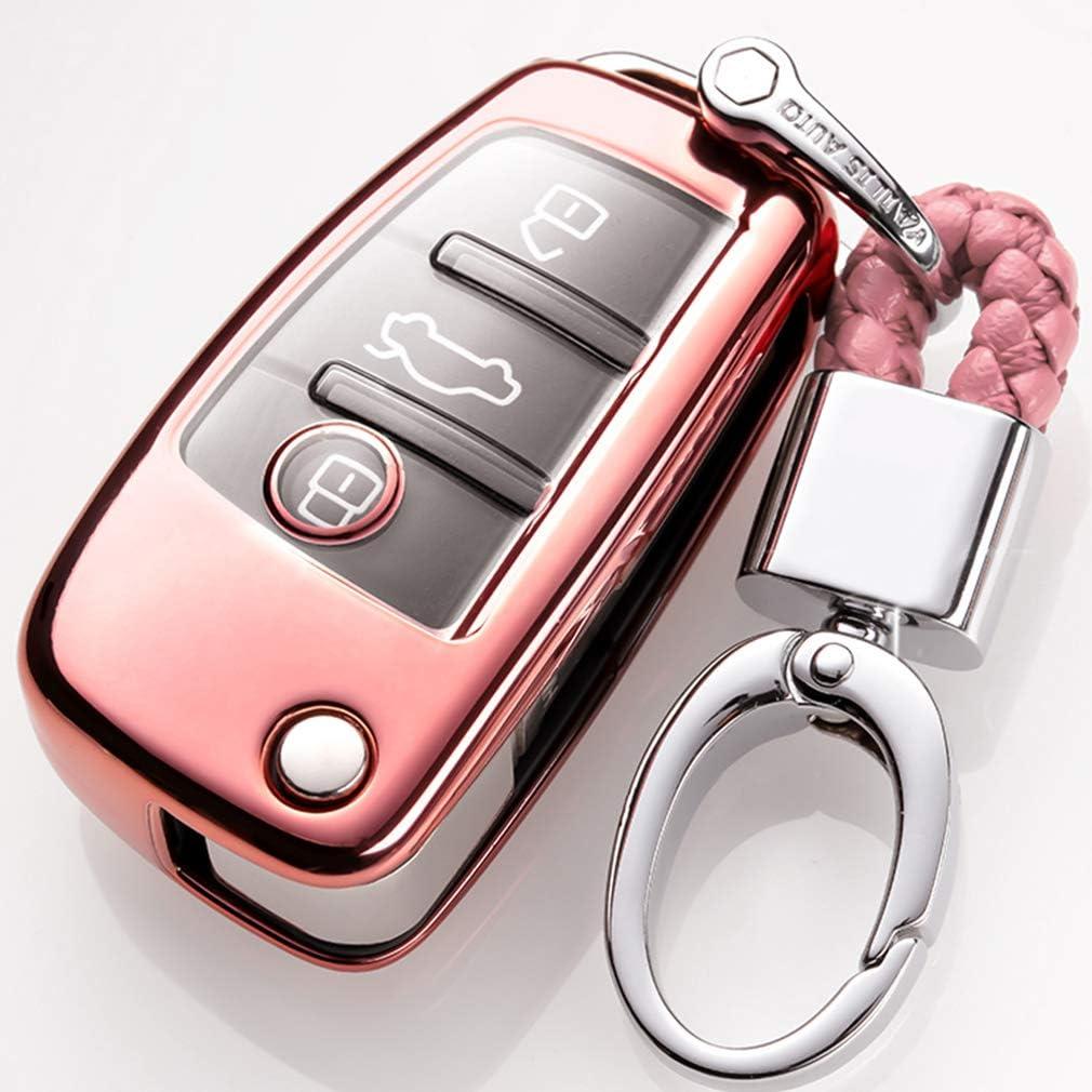 Car Keyless Entry Key Cover Fall Für Audi A1 A3 A4 A6 Elektronik