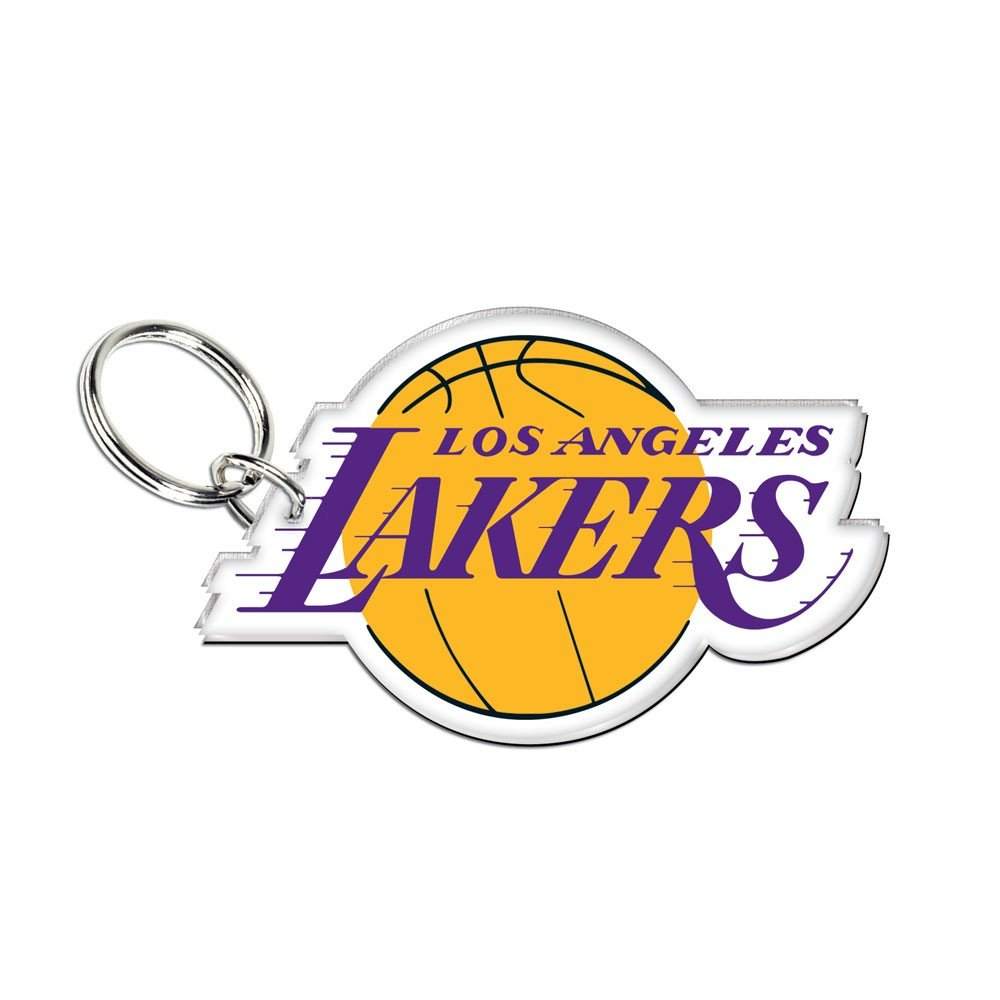 NBA Los Angeles Lakers Team Logo High Definition Keychain by WinCraft