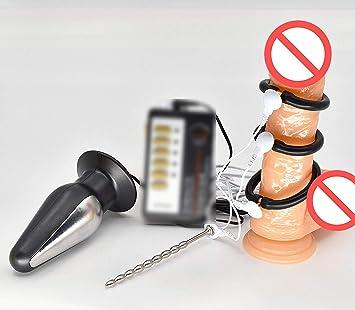 Jessica Rabbit Vibrator Electro Shock E-Stim Male P-Enis Rings Anal Plug  Stainless 8c3545274e