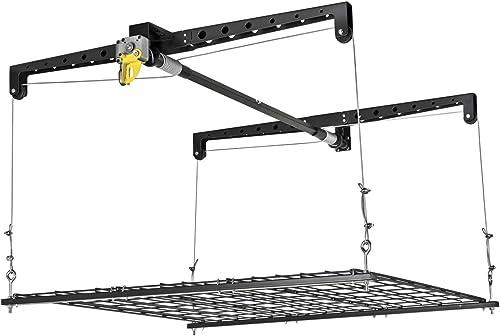Racor PHL-1R Garage Ceiling Storage Rack Lift