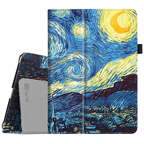 Fintie iPad 9.7 2018/2017, iPad Air 2, iPad Air Case - [Corner Protection] Premium Vegan Leather Folio Stand Cover, Auto Wake/Sleep for Apple iPad 6th/5th Gen, iPad Air 1/2, Starry Night by Fintie