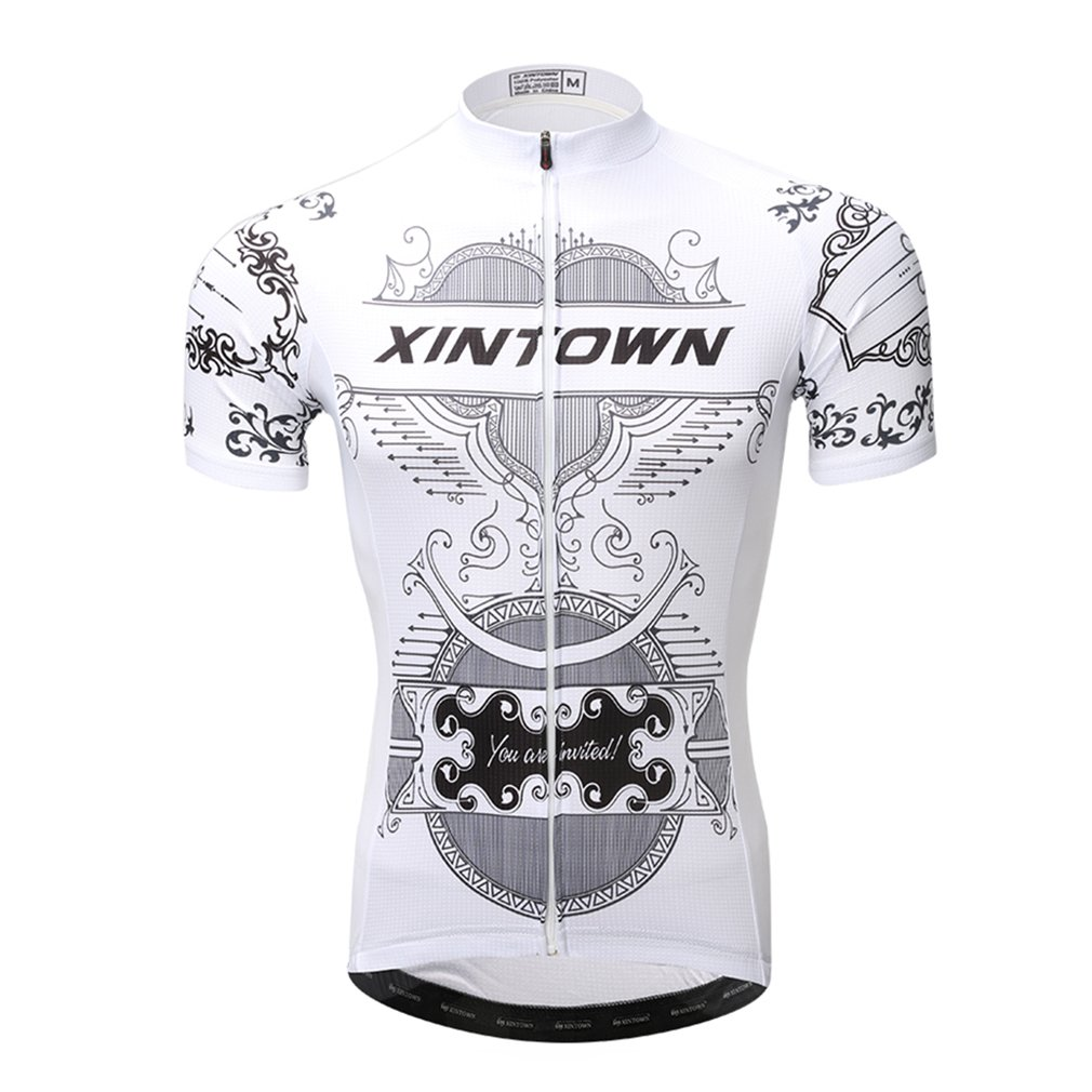 Amazon.com  Nawing Bicycle Clothes Cycling Shirt Summer UV Protection Short  Sleeve Cycle Bike Tops  Clothing 73a0e94b8