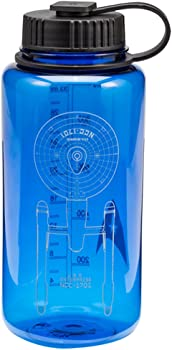 Vandor Star Trek 32 oz Tritan Water Bottle (Blue)