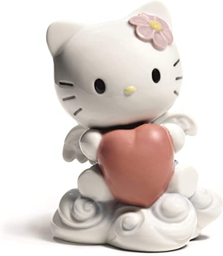 NAO from The Heart. Porcelain Hello Kitty Figure.