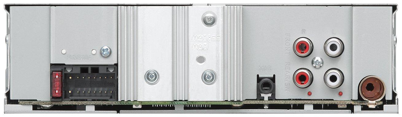 JVC KD-X351BT Digital-Media-Receiver mit Bluetooth-Freisprechfunktion und Audiostreaming schwarz
