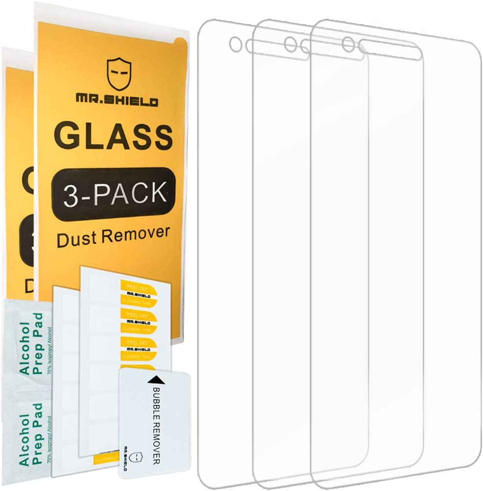[3-Pack]-Mr.Shield for LG K8 (2018) [Tempered Glass] Screen Protector with Lifetime Replacement