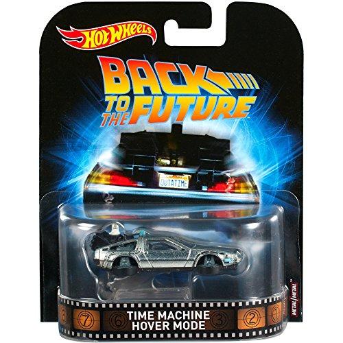 Hot Wheels Back to The Future II Time Machine Vehicle