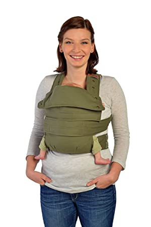 Marsupi Compact Front And Hip Baby Carrier Olive Green