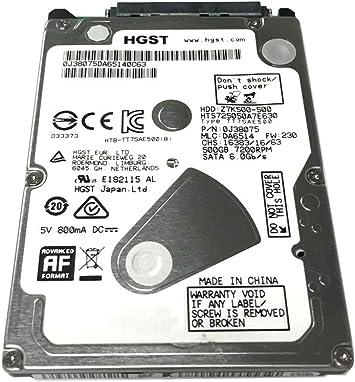 """NUOVO 500GB 2.5 /""""SATA Disco Rigido per Laptop Mac PS3 PS4 NOTEBOOK"""
